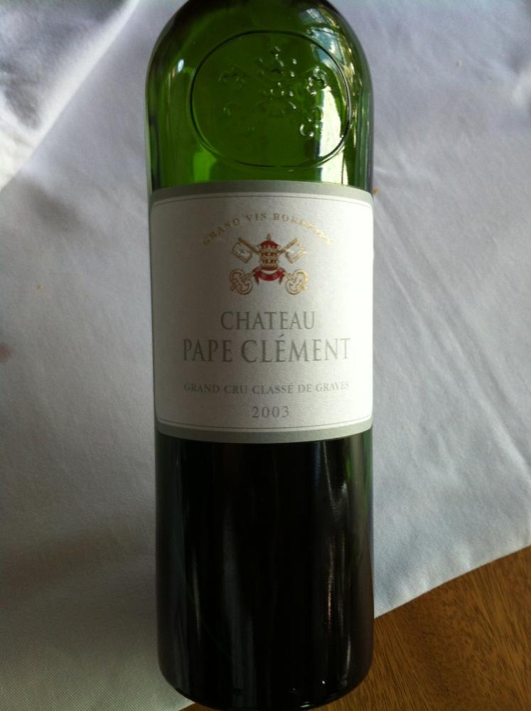 Bordeaux: Château Pape Clément (1/3)