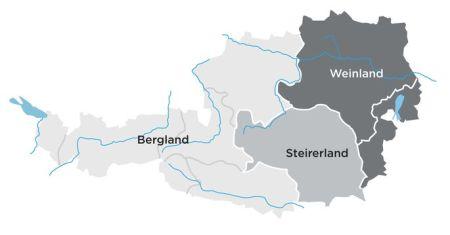Austria Land wine