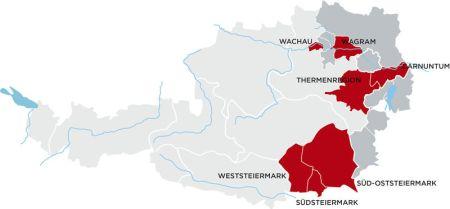 austria sete regiões