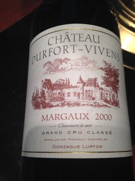 dufort-vivens 2000