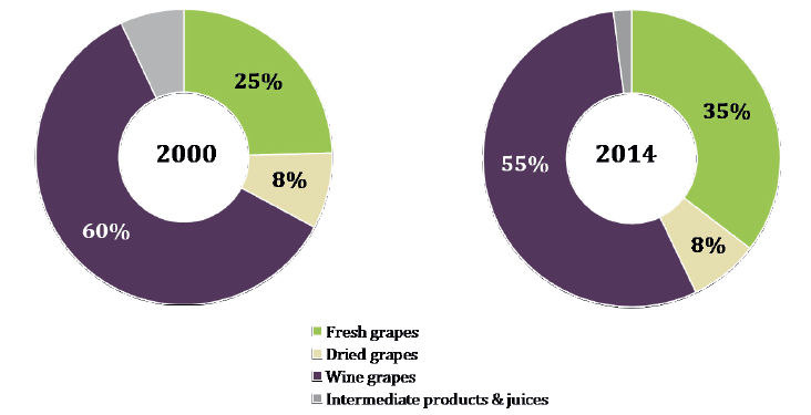 vinhos e uvas