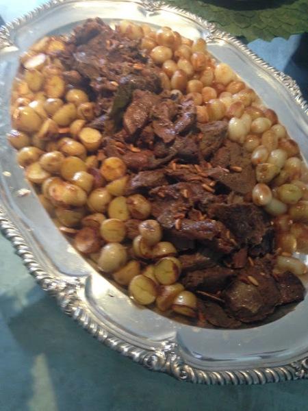 cordeiro e batatas