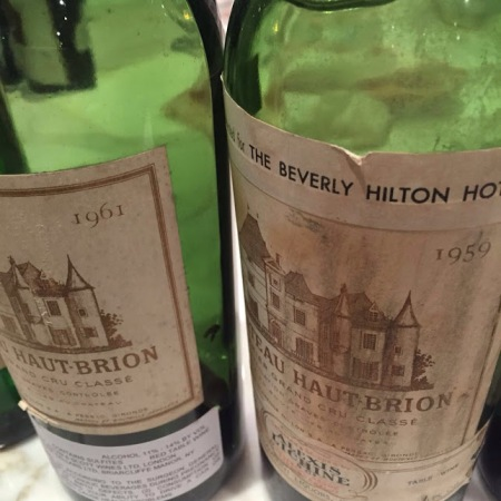 haut-brion 59 e 61