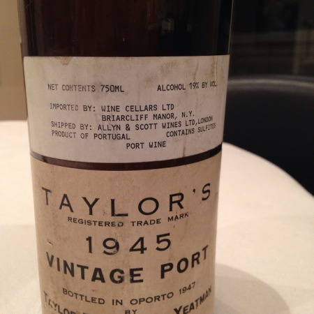 taylor´s 1945