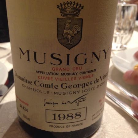 musigny comte vogue