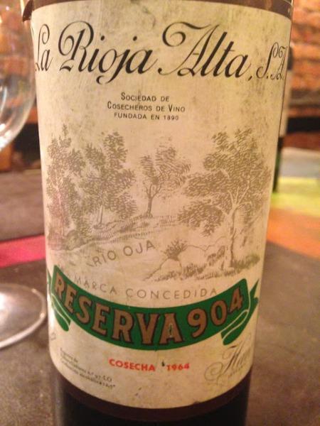 rioja alta 904 1964