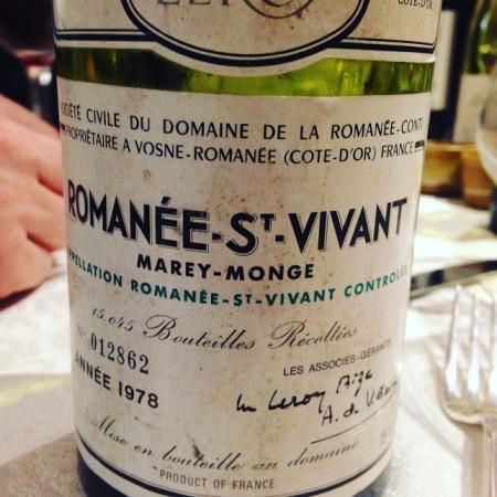 romanee st vivant 78