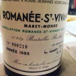 romanee st vivant85
