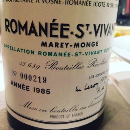 romanee st vivant 85
