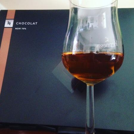 cognac e chocolate