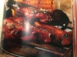 porco grelhado ao molhobarbacue