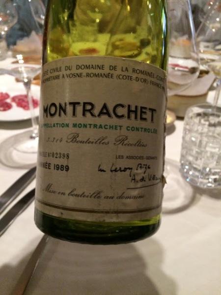 montrachet drc 1989