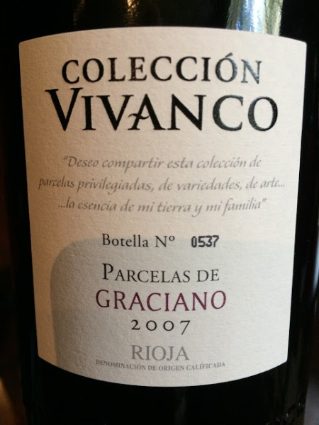 vivanco graciano 2007