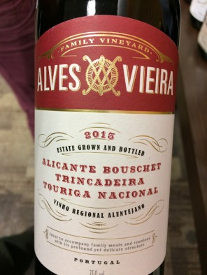 world wine alves vieira alentejo
