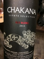 world wine chakana blend
