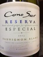 world wine conosur reserva sauvignon blanc