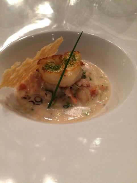 bacchi camarão e sopa do mar