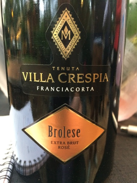 grand cru tasting 2017 brolese rose franciacorta