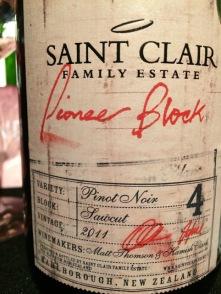 grand cru tasting 2017 pioneer block pinot noir