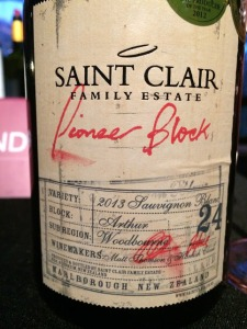 grand cru tasting 2017 sauvignon pionner block 2013