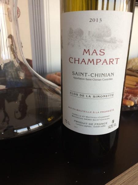 clarets saint chinian