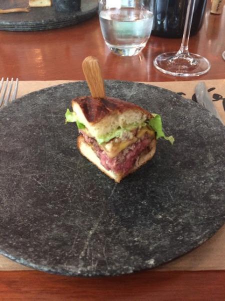 restaurante cor hamburger