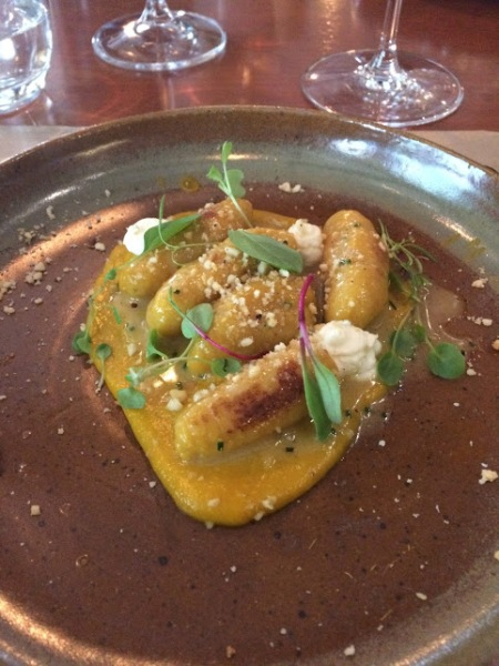 restaurante cor nhoque de abobora e ricota