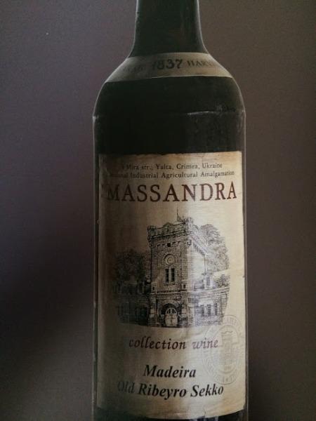 massandra madeira 1837