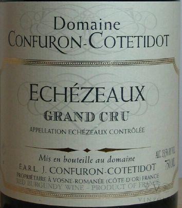 echezeaux confuron cotetidot