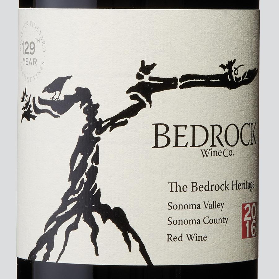 wine spectator bedrock heritage 2016