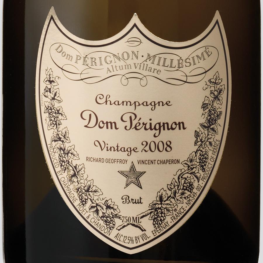 wine spectator dom perignon 2008
