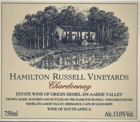 wine spectator hamilton russell chardonnay
