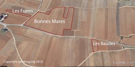 BONNES MARES MAP