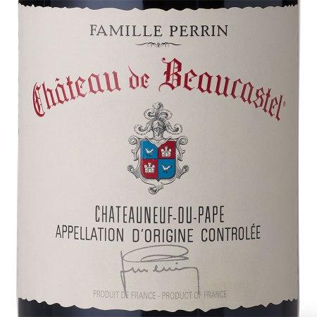 wine spectator chateau de beaucastel