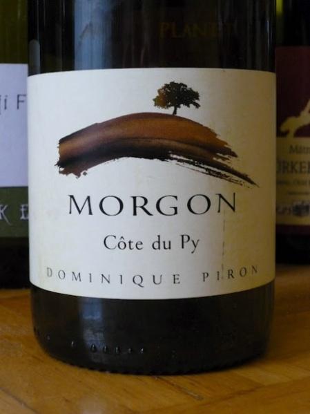 wine spectator dominique piron morgon