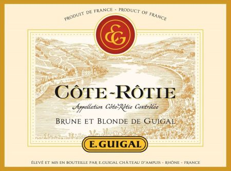 wine spectator guigal blonde e brune