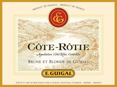 wine spectator guigal blonde e brune