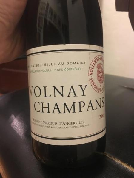 wine spectator maquis d´angerville