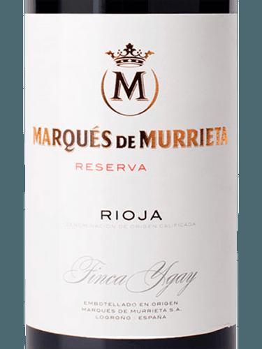 wine spectator marques de murrieta reserva