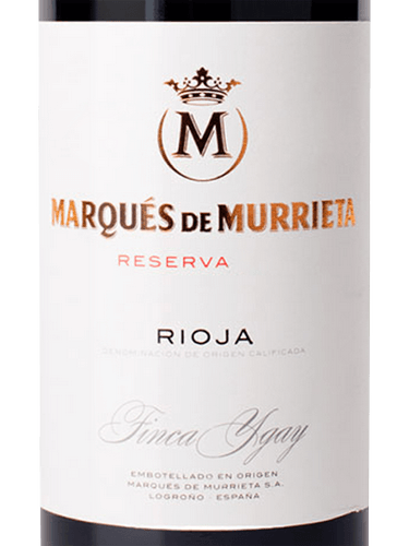 wine spectator marques de murrieta reserva