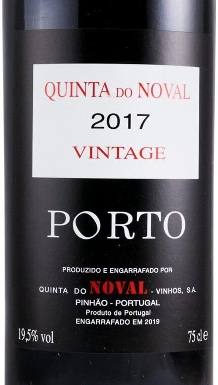 wine spectator noval vintage 2017