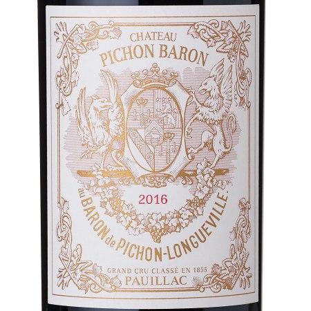 wine spectator pichon baron