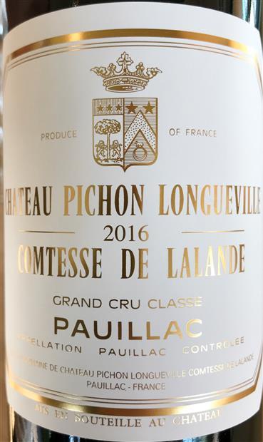 wine spectator pichon lalande