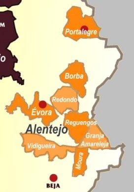 alentejo sub-regiões