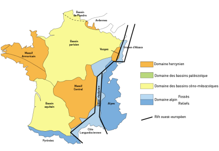 France geologie