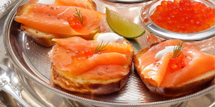 salmão defumado