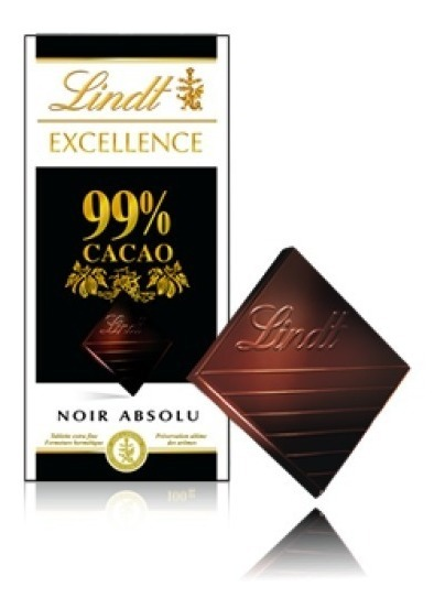 chocolate lindt 99%